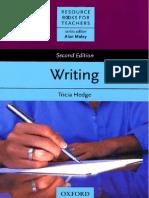 Carte Hedge Writing