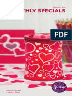 Scentsy I Heart You Warmer Forever Yours Scent January 2014