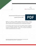 Caracterizacion Social Economica de Chile
