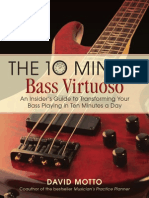 The Ten Minute Bass Virtuoso David Motto Preview