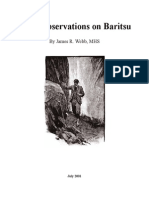 Observations on Baritsu