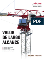 Catalogo Folleto TEREX - Gruas Torre