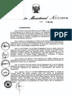 Norma Para Reasignaciones y Permutas de Profesores Comprendidos en La Lrm