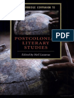 The Institutionalization of post colonial studies