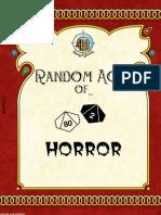 Random Acts of Horror