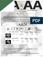 Aa-Aa Price List 2013