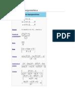 Distribución hipergeométrica - Preliminar