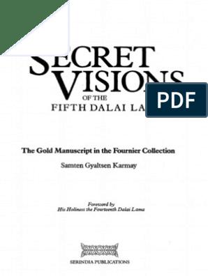 169805257 Karmay Samten Gyaltsen Ngawang Lozang Gyamtso Dalai Lama v