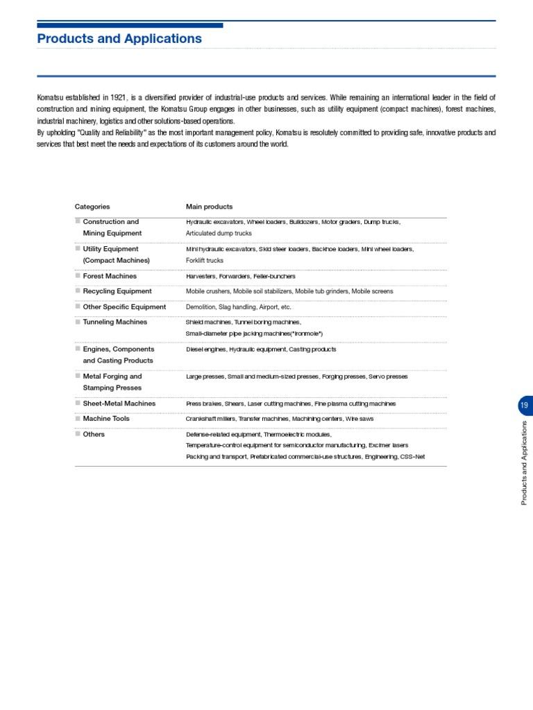 Handbook Komatsu Loader Equipment Industries Bx50 Forklift Wiring Diagram