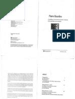 BOURDIEU, Pierre, El Sociologo y Las Transformaciones Recientes de La Economia