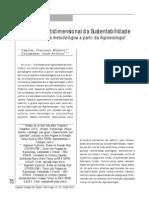 Analise Multidimensional Da Sustentabilidade