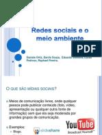 Redes Sociais e o Meio Ambiente