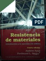 Resistencia de Materiales - Pytel - Singer - 4ºEd (libro=584 pag ) (PDF=615 pag)