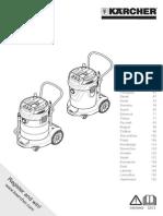 aspirator Kaercher manual utilizare BTA-5341347-000-00