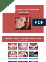 Interception en orthodontie-Occlusion croisée antérieure.pptx