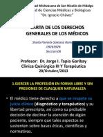 Carta de Los Derechosmedicos