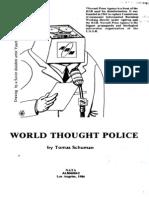 World Thought Police Tomas Schuman 1986 68pgs SOV POL.sml