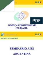 DOENÇAS PROFISSIONAIS NO BRASIL