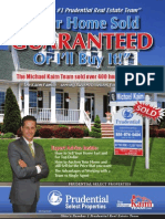 Real Estate Seller Prospect Marketing Booklet
