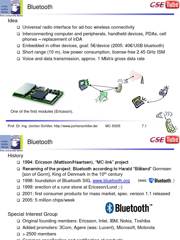Bluetooth architecture | Radio Frequency Identification