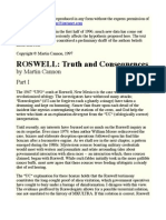 Roswell - Truth and Consequences - Martin Cannon
