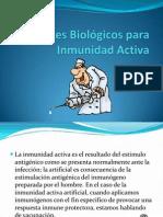 Agentes Biológicos para Inmunidad Activa