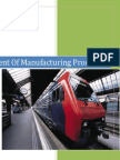 Manufacturing Process Assignment