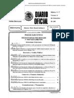 Diario Oficial 19 Dic 1986
