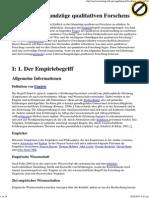 Baustein I_ Grundzüge qualitativen Forschens