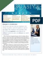 Persuasive Speech Overview