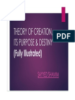 Creations of Allah, Its Purpose and Destiny (Fully Illustrated)  by Sayyed Shamim
