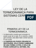 1a LEY DE LA TERMODINÁMICA