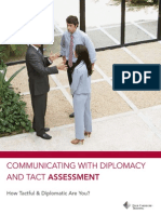 Communicate With Diplomacy and Tact