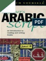 01 Teach Yourself Beginner's Arabic Script