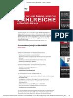 Konstrukteur (m_w) Pro_ENGINEER − Siegen − StepStone