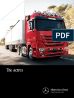 Mercedes Benz Actros Brochure