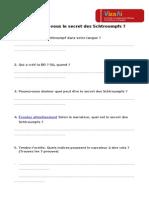 El Secreto de Los Schtroumpfs (Ficha Alumno)