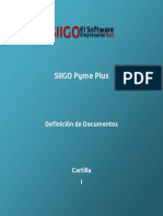 Cartilla - Definicion de Documentos