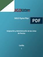 Cartilla - Asignacion y Administracion de Las Listas de Precios