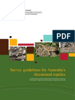 Survey Guidelines Reptiles