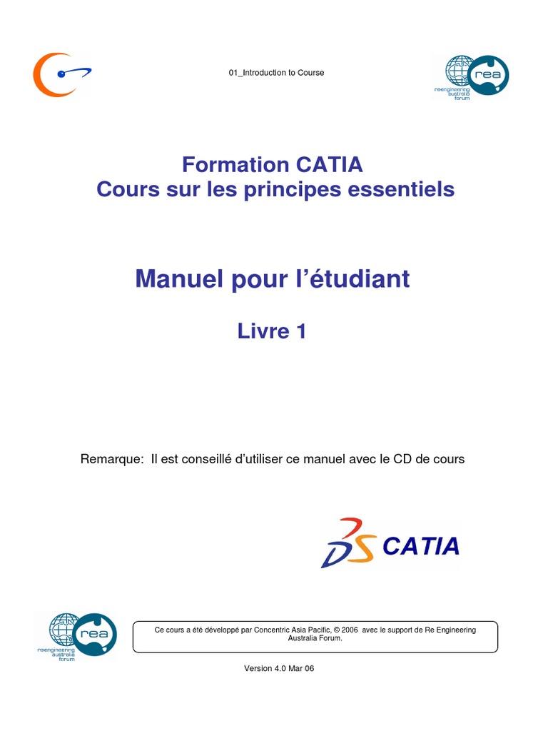 CATIA GRATUIT CARTOUCHE TÉLÉCHARGER V5