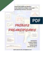 Trabajo de Pueblos Preamaricanos. Raymar Colina