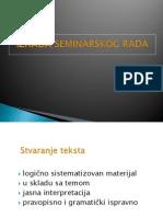Poslovno Kom Izrada Seminarskog Rada