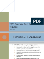 20th Century Post War Theatre