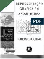 Livro Representacao Grafica Em Arquitetura