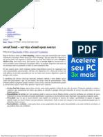 ownCloud - serviço cloud open source _ Sistemas Operativos
