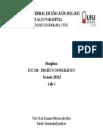 Aula 3_Projeto Topográfico_UFSJ_CAP