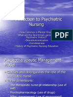 Introduction to Psychiatric Nursing
