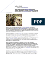 La Crisis de La Biodiversidad