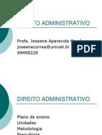 Unidade I - Direito Administrativo